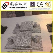 White Granite Slant, G439 Granite Slant
