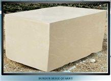 Noble Beige Marble, Burdur Beige Marble Blocks Form Own Quarry