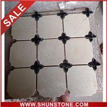 Hexagon mosaic and Marble Mosaic Pattern