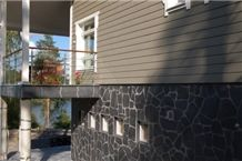 Orivesi Black Phyllite Natural Wall Facade