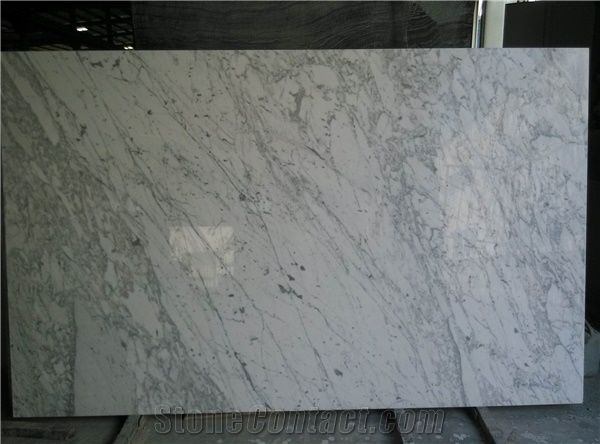 Carrara White 8mm Ultra Thin Shower Wall Panels From China