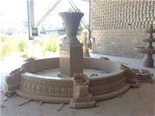 G682 Granite Outdoor Fountain