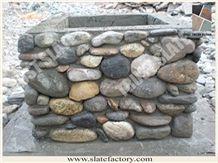 Natural Pebble Decorative Column, Pebble Decorative Pillar, Pebble Stone Decorative Post