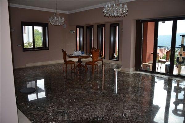Dark Emperador Marble Slabs & Tiles, Brown Polished Marble Floor Tiles, Floor Covering Tiles Spain
