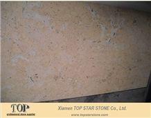 Classical Cream Limestone Slabs, China Beige Limestone