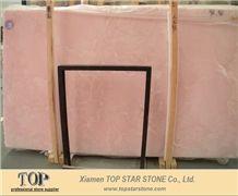 Violet Pink Onyx jade stone