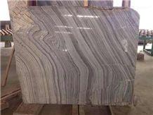 Earl Grey Marble Slabs & Tiles, Grey Wooden Vein Marble