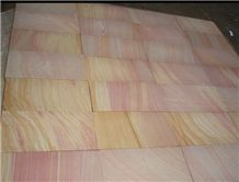 Rainbow Sandstone Slab & Tile