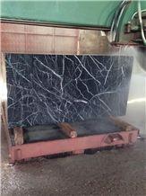 Spider Grey, Turkey Black Marble Block