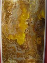 Honey Onyx Tile and Slab