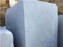Bianco Carrara C Marble, Italy White Marble Block