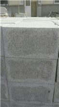 G370 Granite Cobble Stone, Dark Grey Cube Stone