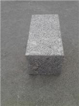 G375 Grey Granite Flamed Cube Stone