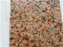 Ws G350 Yellow Granite Flamed Tiles