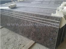 Antique Brown Granite Stairs