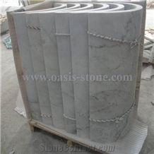 Carrara White Marble Column