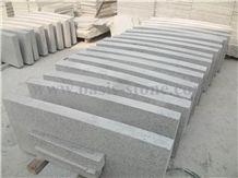 G603 Light Grey Granite Kerb Stone