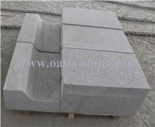 G603 Light Grey Granite Kerbstone