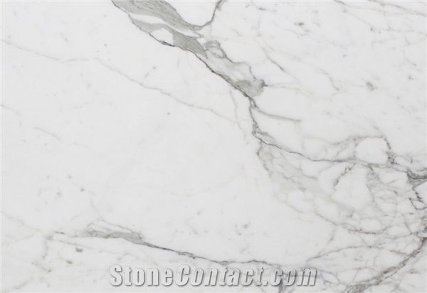 Calacatta Marble Slabs Tiles Italy White