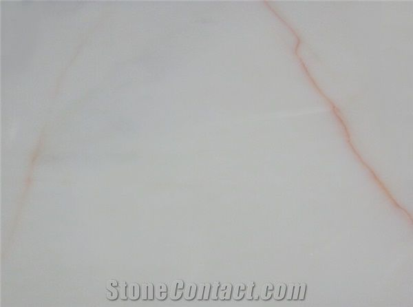 Red Vein White Turkish White Marble Tiles Slabs From China