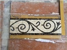 Marble Mosaic Border Lines
