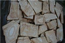 Quartzite Irregular Flagstone for Landscaping, Walling
