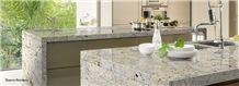 Bianco Romano Granite Kitchen Countertop