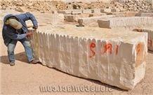Beige/ Crema Thala, Tunisia Beige Marble Block