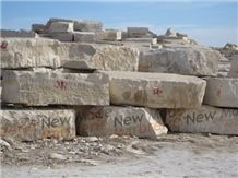 Thala Beige ( Creme ), Tunisia Beige Marble Block