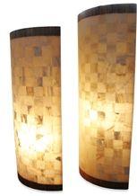 Yellow Onyx Mosaic Floor Lamp