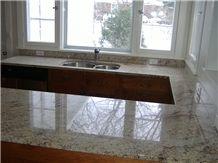 Shivakasi Ivory Granite Kitchen Countertop