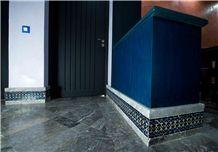 Gris Benslimane Marble Floor Tiles