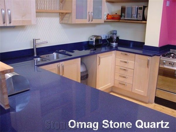 Omag Dark Blue Galaxy Star Kitchen Countertops From China