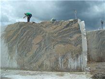 Aruba Gold Granite Blocks from Own Quarry
