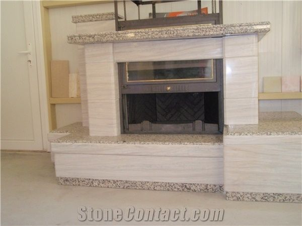 Greek Marble Wood Burning Fireplace Hearth Tz029 From