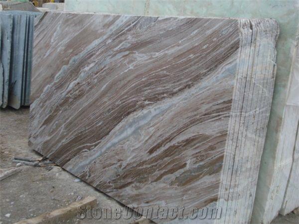 Fantasy Brown Marble Slabs Glacier Sands Indian Marble Cut