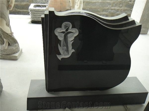 Engraved Western Style Tombstone Designs From China