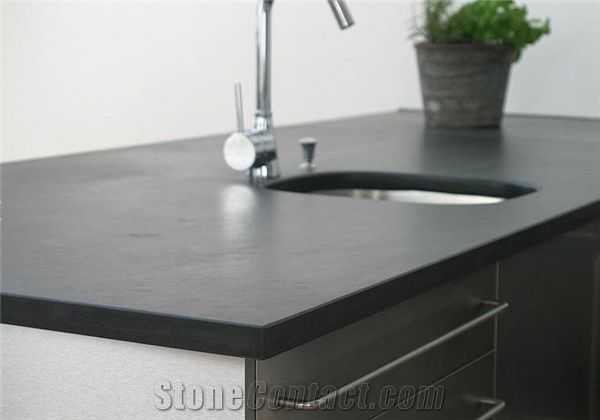 Mustang Slate Kitchen Countertop Mustang Slate Island Top