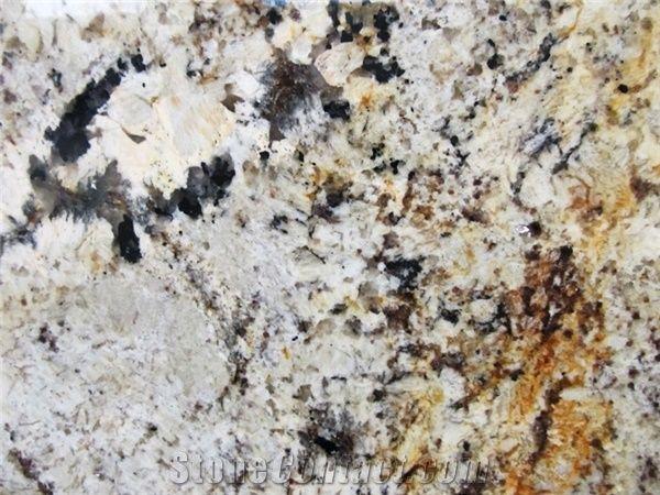 Delicatus Gold Granite Slabs Tiles Brazil Yellow Granite