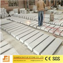 Manufactory Massive China Natural Stone G603 Granite Kerbstone, Grey Curbstone, Curbs, Kerbs, Side Road Edging Borders, Gutterstone Kerbing Channel, Samuelsdalen, Landscaping, Sawn Whit Chamfer, Rough