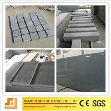 Polished G654 Granite Tile, Granite Floor Tile, Dark Grey Granite, Sesame Black, Padang Dark, China Impala Black