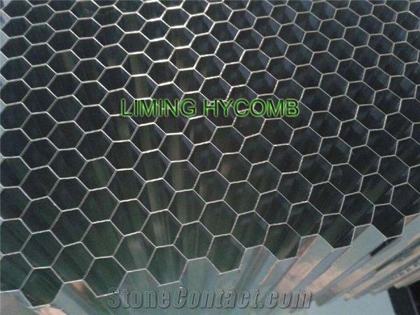 Aluminum Honeycomb Core For Stone Honeycomb Curtain Wall