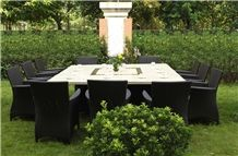 Stone Honeycomb Tabletops for Outdoor Use