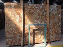 Golden Glory Granite Slabs & Tiles, India Yellow Granite
