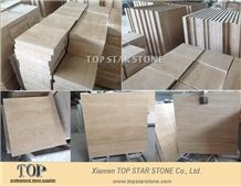 Honed Unfilled Light Cream Travertine