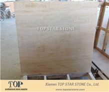 Honed Vein Cut Travertine Flooring Tile