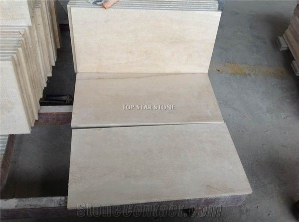Light Cream Travertine Floor Tiles Ivory Cream Travertine From