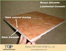 Rosa Tea Marble Composite Panel Tiles