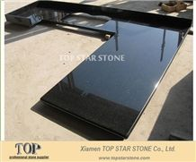 Star Galaxy Black Granite Kitchen Countertops