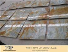 Topstar Blue Onyx Wall Tiles, Onice Glaciale Blue Onyx